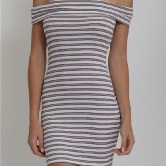 Dresses & Skirts - NWT Striped Mini Dress like Fashion Nova